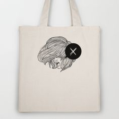 STV - Whiteout Tote Bag by Gianmarco Magnani - $18.00