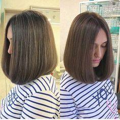 Bob hairstyles that look amazing. Medium Hair Cuts, Short Hair Cuts, Medium Hair Styles, Short Hair Styles, Haircut Medium, Choppy Bob Hairstyles, Bob Hairstyles For Fine Hair, Korean Short Hair, Langer Bob