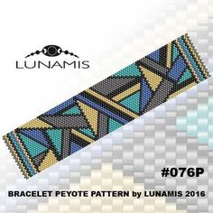 PATTERN ONLY. Create this beautiful peyote cuff bracelet.  Miyuki Delica Beads size 11/0 Odd count with 5 bead colors. 27 bead columns by 92 bead rows. Width: 1.4 (3,7 cm) Length: 6.4 (16,1 cm)   Patterns include: - Large colored numbered graph paper (and non-numbered in another files) - Bead legend (numbers and names of delica beads colors ) - Word chart - Pattern preview  This pattern is intended for users that have experience with odd count peyote and the pattern itself does NOT include…