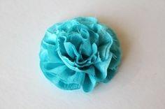 Flower Ruffle Pillow Tutorial