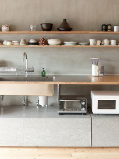 Kitchen. Concrete.