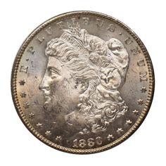 1880 S U.S. Morgan Silver Dollar