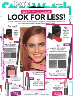 People Style Watch reports which celebrity wore Avon Makeup on the red carpet thanks to Avon Global Celebrity Makeup Artist Lauren Andersen!