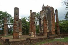 Wat Saphan Hin fuori dalle mura di #Sukhothai #Thailandia http://www.viaggiaescopri.it/sukhothai-visita-al-parco-storico/