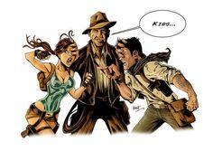 Lara Croft - Idiana Jones - Nathan Drake.