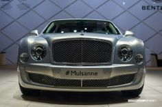 Given the choice (and someone would certainly have to give me the choice) I'd much rather rock a Bentley Mulsanne.