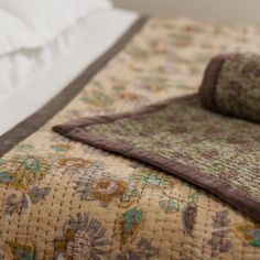 Passion Flower Cotton Quilt | Myakka