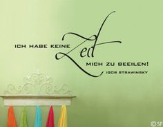 Keine Zeit Lettering, Home Decor, Good Invention Ideas, Penmanship, Day Care, Round Round, Funny, Decorations, House