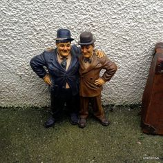 Laurel and Hardy Figure in Fair Condition – Buy #vintage collectibles from Cherrie Hub and get express UK delivery!