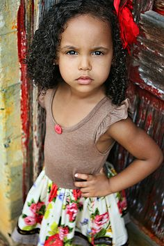 beautiful little girl..