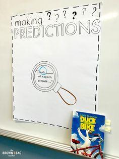 Making Predictions: 1st Grade Read Aloud - The Brown Bag Teacher