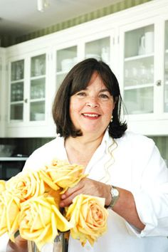 Ina Garten - my favorite chef!  Where does she buy her shirts?  Want some of those!