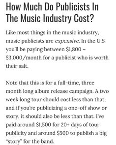 from @mariedriven -  Just in case you didn't know and this was published  in 2013 where in 2017 #priceisup do your research on what your asking for! #pr #press make sure you chose the person that will do the job not act like they can! - #model #music #talent #marketing #branding #brand #networkmarketing #networking #modelsearch #portfolio #photoshoot #investinyourself #epk #presskit #mixtape #artist #singer #celebrity