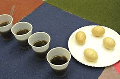 Eggs in soda for tooth decay, you can brush them too!