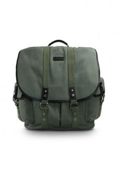 Vintage style Army Laptop bag