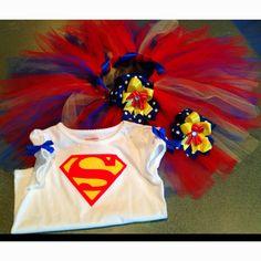 Super Girl Tutu set  Facebook.com/goodytutus716 or email me at goodytutus716@yahoo.com