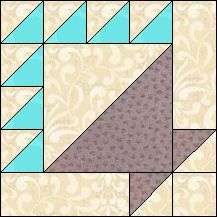 Block of Day for May 08, 2016 - Cake Basket-strip piecing- The pattern may be downloaded until:Tueday, May 31, 2016