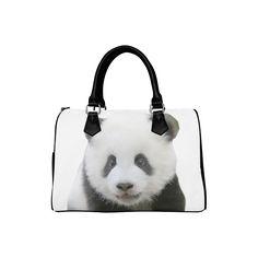 Panda Bear Boston Handbag. FREE Shipping. #artsadd #bags #panda