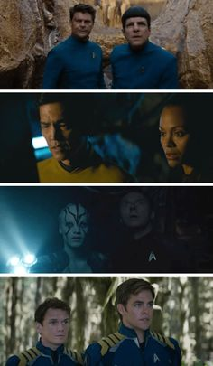 Star Trek Beyond | Spock & Bones, Sulu & Uhura, Jaylah & Scotty, Chekov & Kirk