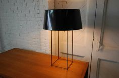 Tommi Parzinger Table Lamp in Brass | From a unique collection of antique and modern table lamps at http://www.1stdibs.com/furniture/lighting/table-lamps/