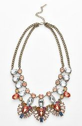 BaubleBar 'Drama' Mixed Stone Statement Necklace (Nordstrom Exclusive)