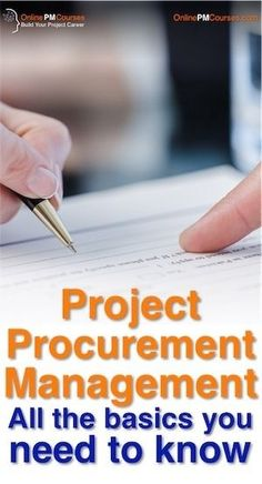Project Procurement Management [All the basics you need to know] - PintoPin Program Management, Supply Chain Management, Change Management, Event Management, Business Management, Inventory Management, Supply Chain Logistics, Procurement Process, Project Management Professional