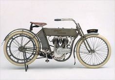 1909 The six-year-old Harley-Davidson Motor Company introduces its first V-twin powered motorcycle. With a displacement of 49.5 cubic inches, the bike produces seven horsepower. The image of two cylinders in a 45-degree configuration would fast become one of the most enduring icons of Harley-Davidson history. Also available for the first time from the Motor Company are spare parts for motorcycles.