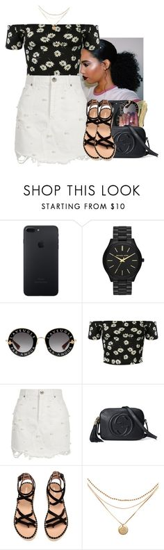 """Untitled #2279"" by txoni ❤ liked on Polyvore featuring Michael Kors, Gucci, Pilot and River Island"