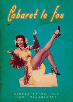 Cabaret Le Fou | Salon zur Wilden Renate | Berlin | https://beatguide.me/berlin/event/salon-zur-wilden-renate-cabaret-le-fou-20140130
