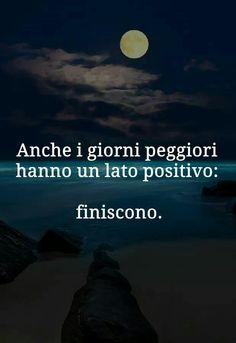 Tutto ha un lato positivo...