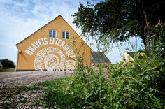 Øhavets Efterskole near Kragholm, Rudkøbing expelled a large number of students due to drugs properly caused by having to stay at this very remote location. The school later closed. Boarding Schools, Denmark, Drugs, Remote, Students, Cabin, Country, House Styles, Pilot
