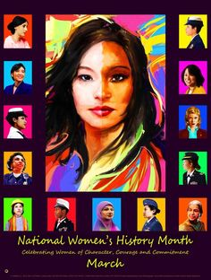 Item# WH14 National Women's History Month Celebrating 2017 Update....(GSA)