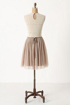 girlie anthropologie dress
