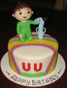 Let Them Eat Cake: Charlie & the Numbers cake