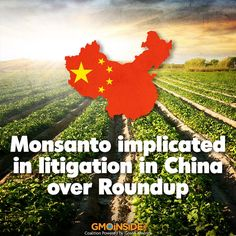 In case you missed it: Monsanto, the world's leading genetically modified food producer, has been implicated in litigation again in China in its attempt to get a foothold in the huge market. Citizens have demanded the authorities to publish the results of a toxicity test on its glyphosate herbicide Roundup products, according to the Changjiang Times. http://www.wantchinatimes.com/news-subclass-cnt.aspx?id=20150407000034&cid=1102 #glyphosate #stopmonsanto #GMOs #China