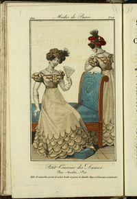 Petit Courrier des Dames : annonces des modes, des nouveautés et des arts del 20 de Septiembre de 1822