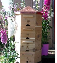 Hexa Bee Hive Plans   16 Bee Hive Plans - Build a safe place to save the bees! at http://pioneersettler.com/best-bee-hive-plans