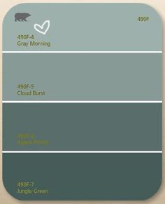Behr gray morning (similar to duck egg blue)