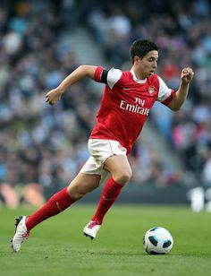 Samir Nasri (France) - Olympique Marseille, Arsenal, Manchester City.