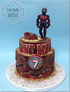 Marvelous Ant-Man Cake made by Cake Studio Rouge