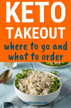 Want to stay in ketosis but also want some takeout? Here is what to do when you want to figure out your keto takeout options. Ketogenic Recipes, Diet Recipes, Ketogenic Diet, Healthy Recipes, Diabetic Recipes, Lunch Recipes, Healthy Meals, Eating Fast, Clean Eating