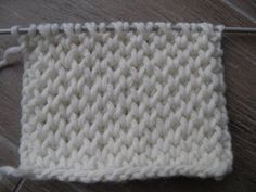 Pearl Brioche stitch - YouTube