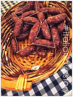 Sausages from #Casentino #Arezzo