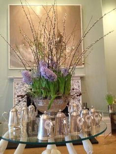 @Coworth Park Lavender Green Flowers 0207 127 5303