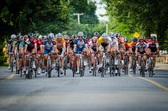 Mardis Cyclistes juillet 2012.