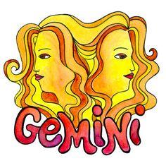 Gemini #gemini #astrology #zodiac #twins