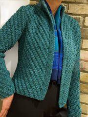 Cardigan & Jacket Knit Patterns - Take Two Knit Jacket Pattern www.anniescatalog.com