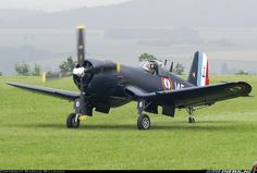 Vought F4U-7 Corsair, La Ferte-Alais (LFFQ), France, May 26, 2007.