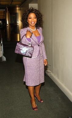 Oprah Winfrey's Style Evolution