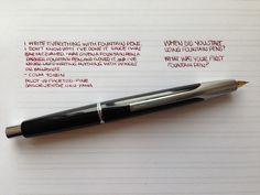 Handwritten Post on Go Pens - When Did You Start